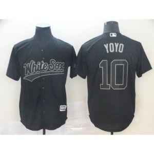 Chicago White Sox Yoan Moncada YO YO #10 Jersey